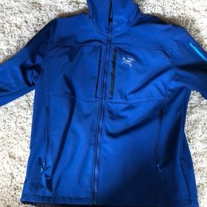 Arcteryx Gamma MX hoddie soft shell jacket